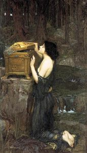 John William Waterhouse - pandore