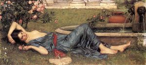 John William Waterhouse - doux été