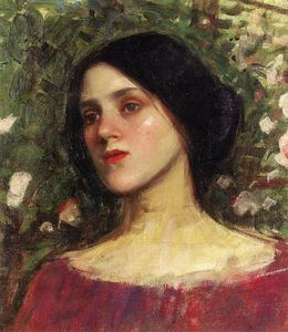 John William Waterhouse - La Rose Bower