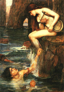 John William Waterhouse - La sirène