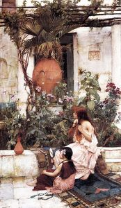 John William Waterhouse - La toilette alias  au  Corsaire