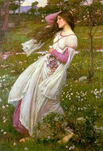 John William Waterhouse - Tournesols ( Venteux )