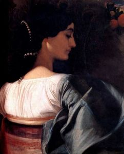Lord Frederic Leighton - Une dame italienne