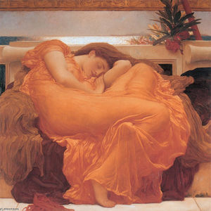 Lord Frederic Leighton - Flaming Juin