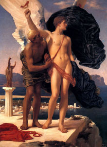 Lord Frederic Leighton - Icare et Dédale