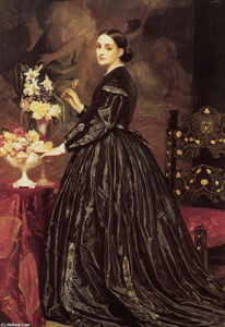 Lord Frederic Leighton - Mme James Guthrie