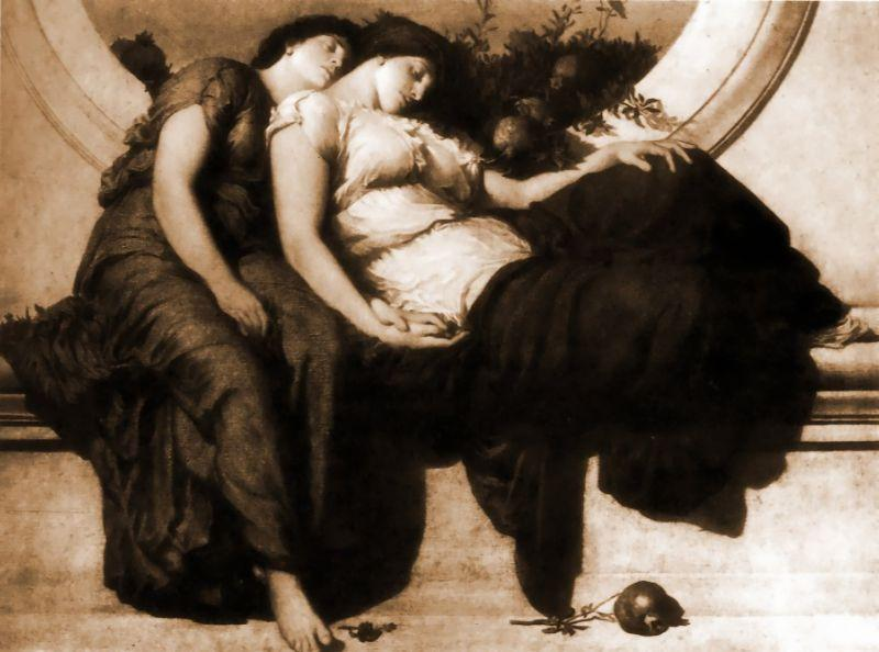Noon d été de Lord Frederic Leighton (1830-1896, United Kingdom) | Reproductions D'œuvres D'art Lord Frederic Leighton | WahooArt.com