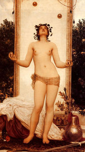 Lord Frederic Leighton - The Antique Juggling Fille