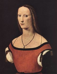 Lorenzo Costa (The Elder) - portrait d'un femme