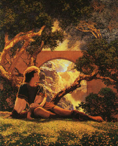 Maxfield Parrish - Le Valet
