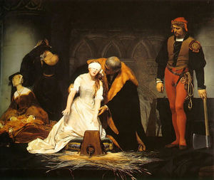 Paul Delaroche (Hippolyte Delaroche) - L exécution de Lady Jane Grey