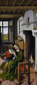 Robert Campin (Master Of Flemalle) - Sainte-Barbe
