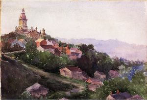 Theodore Robinson - maisons en france