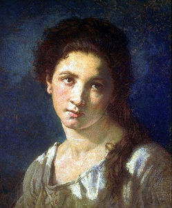Thomas Couture - fille de l artiste