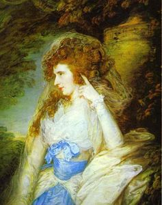 Thomas Gainsborough - Marie , lady bate dudley