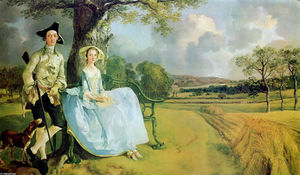 Thomas Gainsborough - Grimston de m . et mrs . Andrews