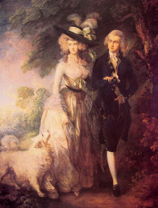 Thomas Gainsborough - M. et mme william Hallett