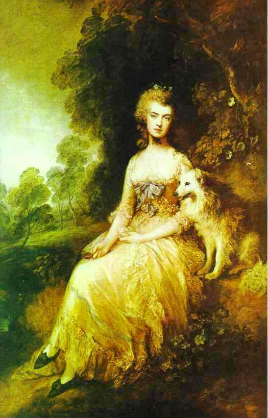 Mme Robinson Perdita, 1781 de Thomas Gainsborough (1727-1788, United Kingdom) | Reproductions De Qualité Musée Thomas Gainsborough | WahooArt.com