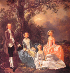 Thomas Gainsborough - La famille Gravenor