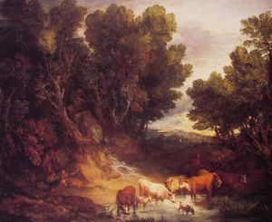 Thomas Gainsborough - L Abreuvoir