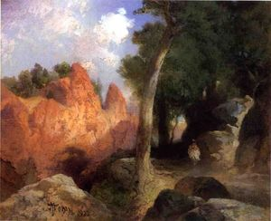 Thomas Moran - canyon de l- nuages