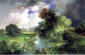 Thomas Moran - Juin, East Hampton