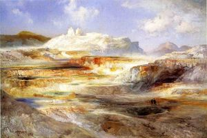 Thomas Moran - Jupiter Terasse , Yellowstone