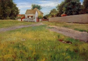 William Merritt Chase - Brooklyn Paysage
