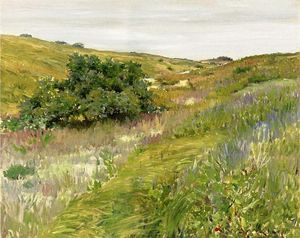 William Merritt Chase - Paysage de Shinnecock Hills