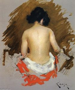 William Merritt Chase - Nu de