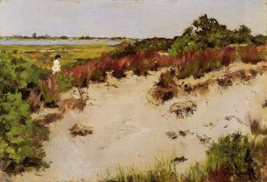 William Merritt Chase - Paysage Shinnecock