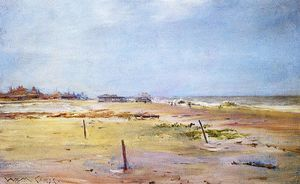 William Merritt Chase - Scène Shore