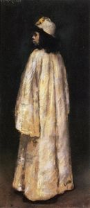 William Merritt Chase - Etude d une Fille arabe