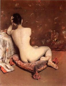 William Merritt Chase - le modèle