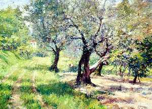 William Merritt Chase - le olive petit bois