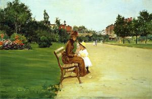William Merritt Chase - à l parc se 1