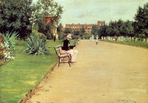 William Merritt Chase - Le Parc