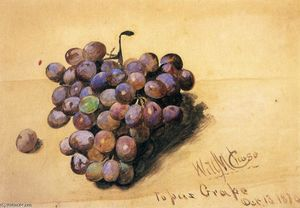 William Merritt Chase - Topaze Raisins