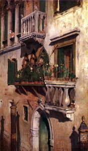 William Merritt Chase - venise