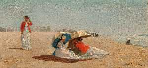 Winslow Homer - À lest Hampton , Long Île