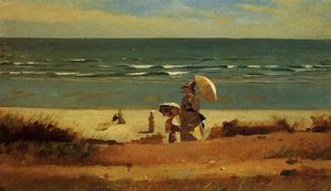 Winslow Homer - Sur la plage, Marshfield
