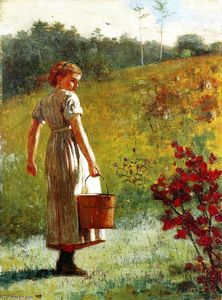Winslow Homer - returning` de l- printemps