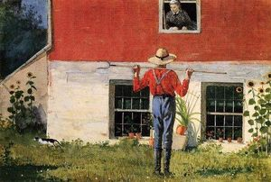 Winslow Homer - Courtship rustique