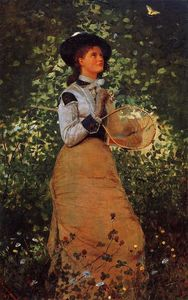 Winslow Homer - le papillon fille