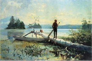 Winslow Homer - Le trappeur, Adirondacks