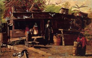 Winslow Homer - oncle `ned` chez soi
