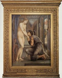 Edward Coley Burne-Jones - L âme atteint