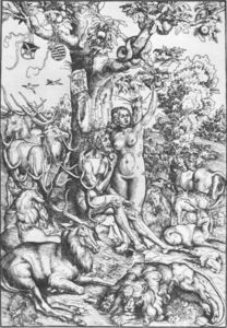 Lucas Cranach The Elder - eve et adam 6