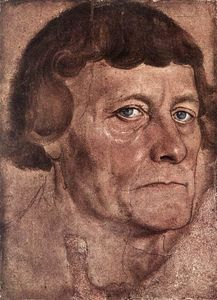 Lucas Cranach The Elder - Portrait d un homme
