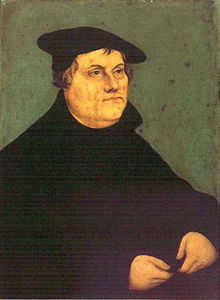 Lucas Cranach The Elder - Portraits de Martin Luther 1